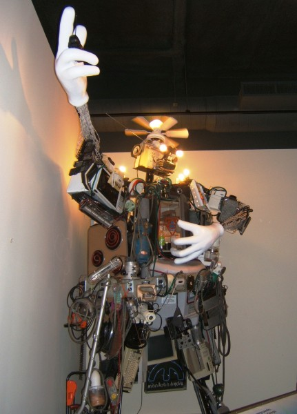 Robot at the electrical museum