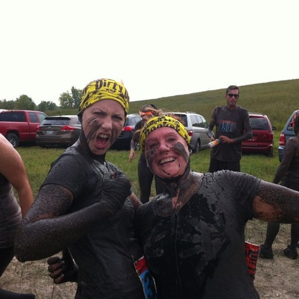 Dirty Donkey after race