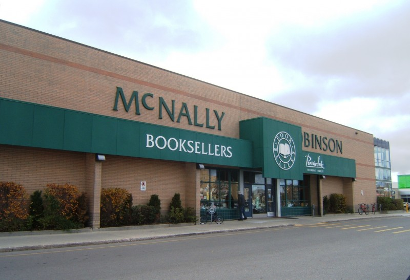 McNally Robinson book store at Grant Park