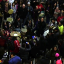 Idle No More Round Dance at mall