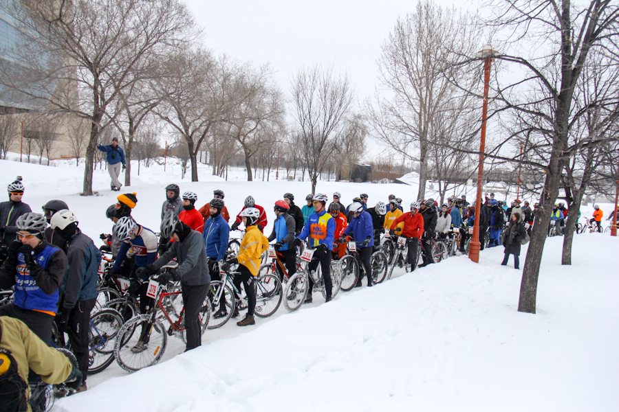 Over 300 participants at last year's Icebike. How many will be there this year?