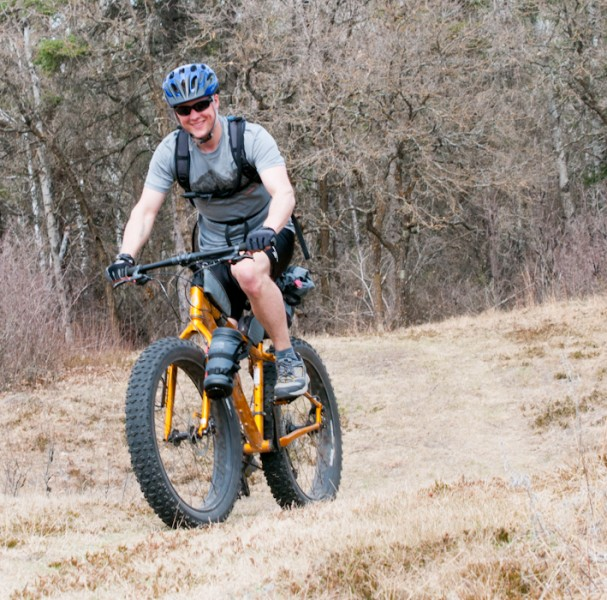 Al Barr at Spruce Woods Provincial Park earlier in the year