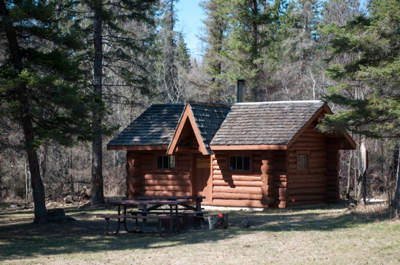 Just one of the many cabins at Spruce Woods Provincial Park that the particpants will see