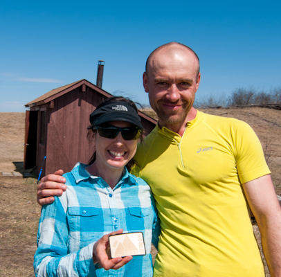 Mallory Richard and Juraj Karak are the top female and male runners of Manitoba's first 100 mile Ultra-Marathon