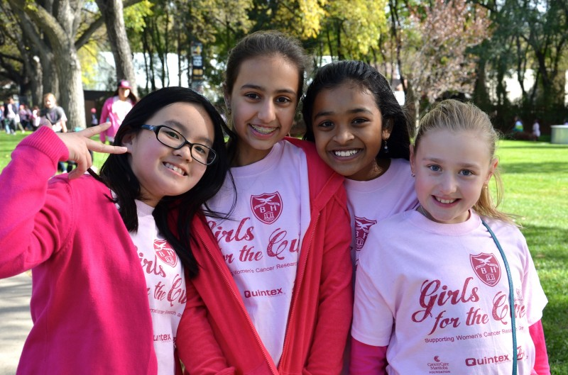 Girls for the Cure