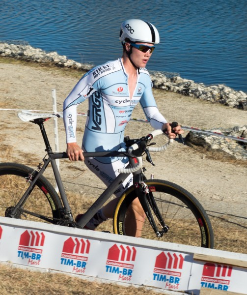 Willem Boersma during the Cyclocross Provincials