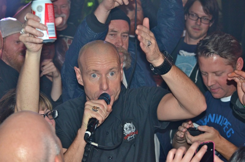 The Headstones' Hugh Dillon thinks that Winnipeggers know how to party