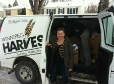 Susan Krepart started the Magnus Hay Formula Drive after hearing that Winnipeg Harvest had a shortage of baby formula.
