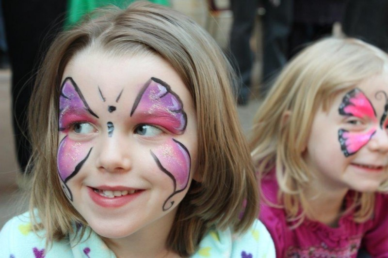 facepainting - butterfly two girlsIMG_1600
