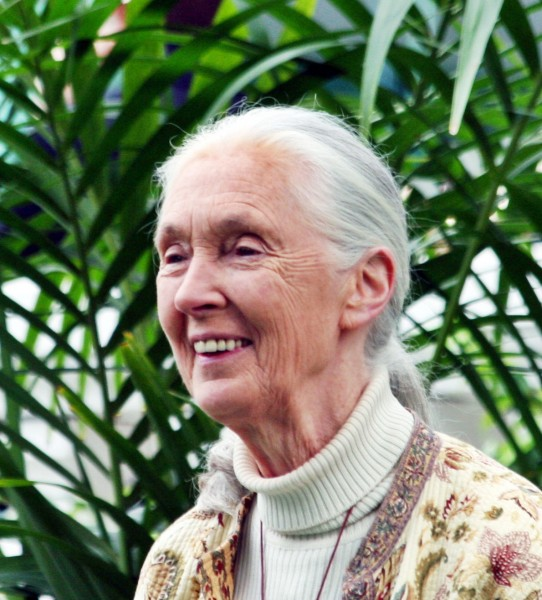 Dr. Jane Goodall will be a featured speaker.