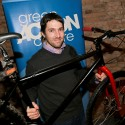 Employee Daniel Gravenor built an office bike for year-round use by his co-workers.