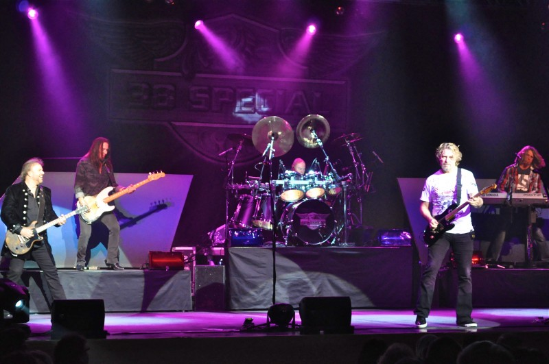 .38 Special brand of Southern Rock fired up the crowd art Club Regent