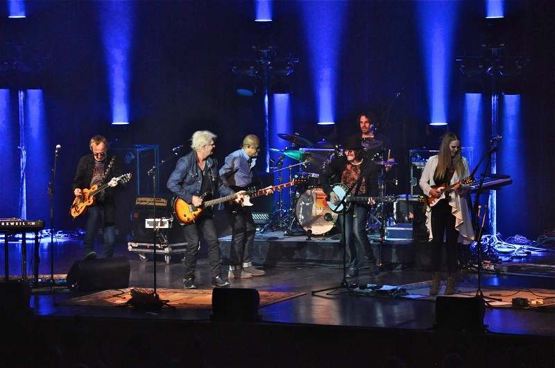 Tom Cochrane and Red Rider played a sold out show at Club Regent on Monday