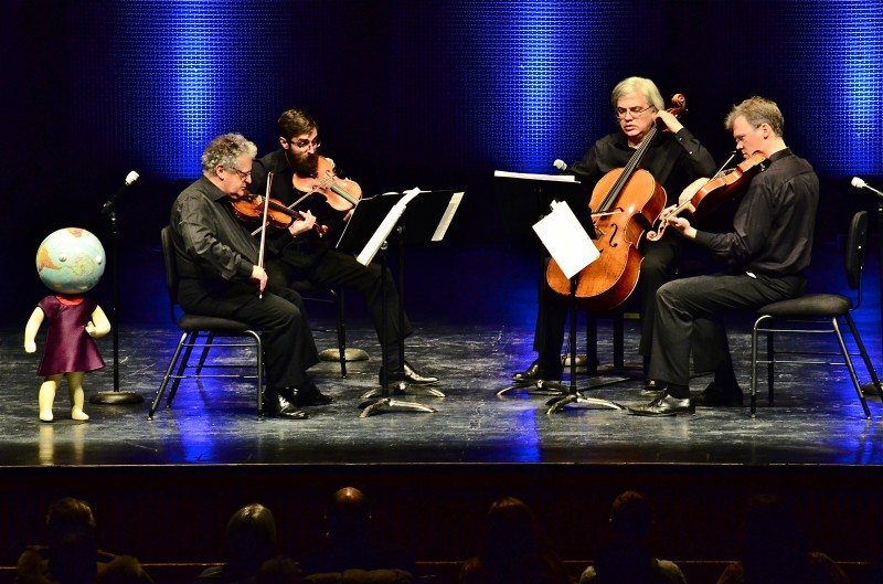 Arditti Quartet performed a John Zorn piece on the second night of the festival