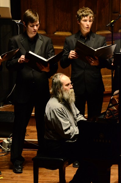 Lubomyr Melnick performs his composition Dreams of You with Prairie Voices