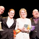 SYTYCA 2014 Winners Troy Westwood & Big Daddy Tazz with actors Danielle Savage & Liz Whitbread