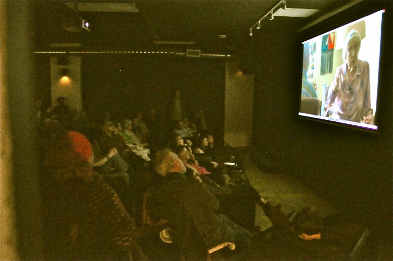 The large audience was captivated by the stories