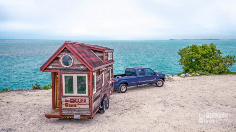 Mobility is a feature with most tiny houses.