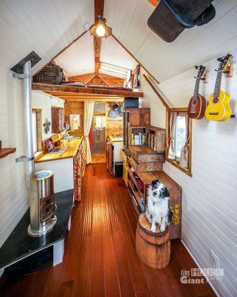 Jenna & G -Tiny house interior