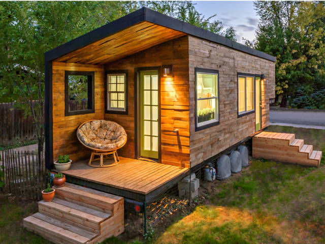 More people are discovering tiny houses are more in line with their lifestyle.