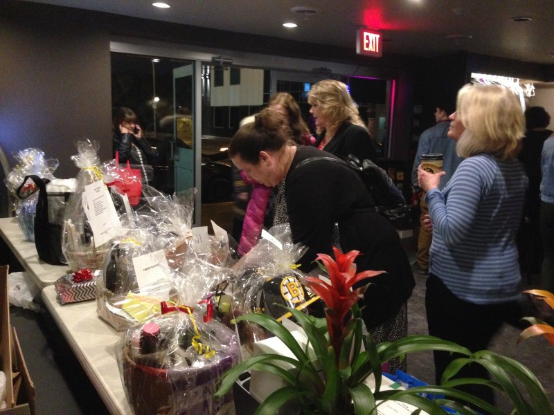 Donations of time to help organize the event as well as prizes for the silent auction were many