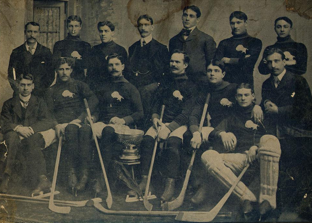 The Winnipeg Victorias, Stanley Cup Champions in 1902.