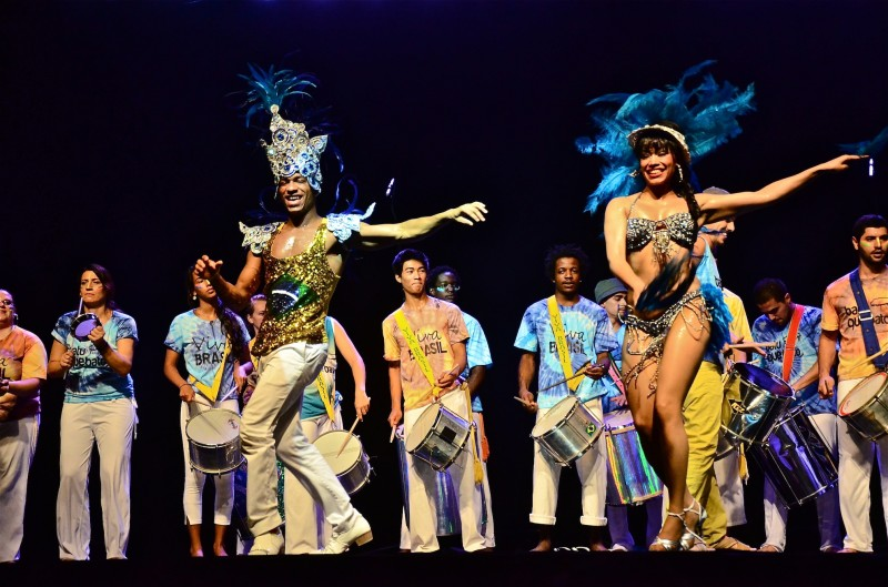 Song and dance are a major attraction for all pavilions.