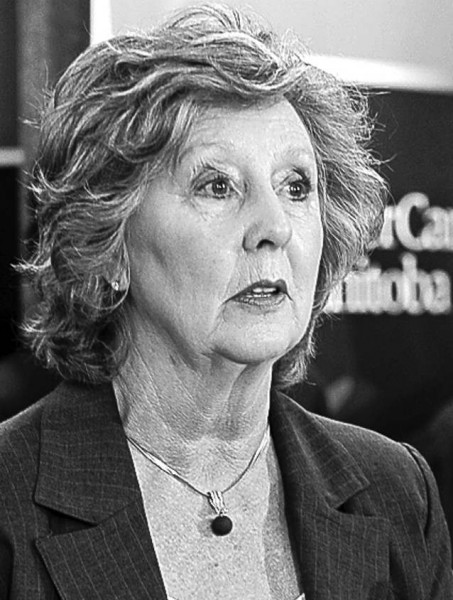 Janice Filmon will be installed as the 25th Lieutenant Governor on June 19, 2015. Trevor Hagan / Winnipeg Free Press archives.