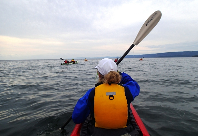 On the St Lawrence: the Saguenay-St Lawrence Marine Park is under your keel