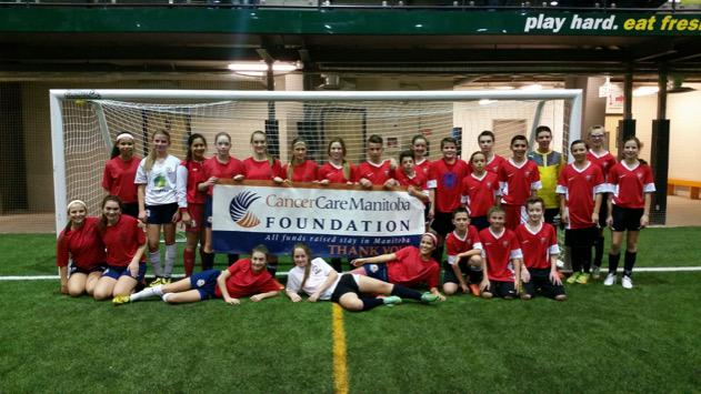 UST Academy night in support of CancerCare Manitoba raised $1050 in 90 minutes.