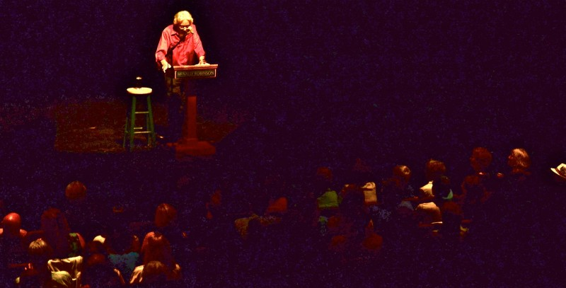 The sold out WECC audience was captivated and inspired by Mr. Suzuki's talk