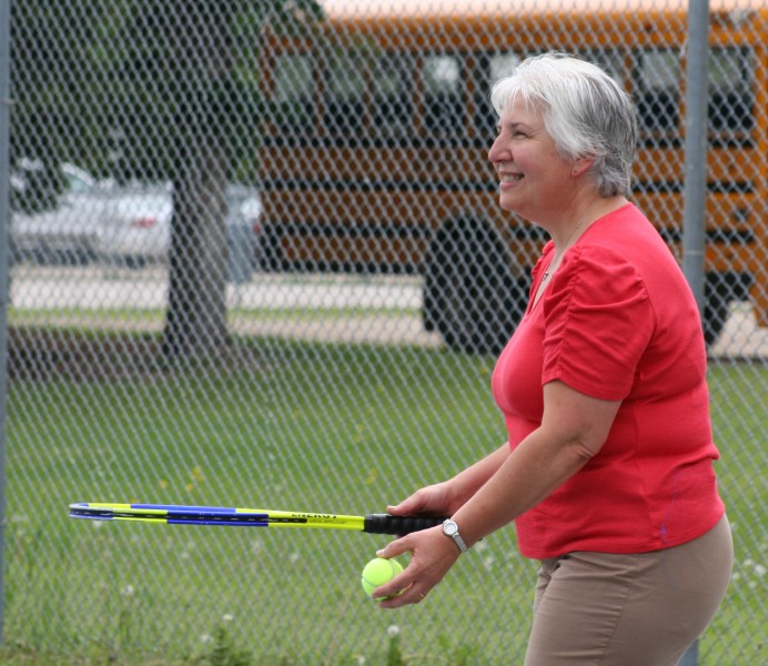 Women's tennis is just one of numerous activities and sports offered at the Games.