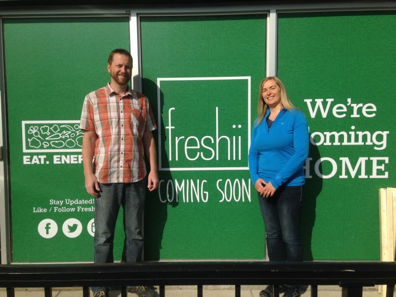 A Fresh Idea with Fresh Ingredients makes for a  Freshii concept!