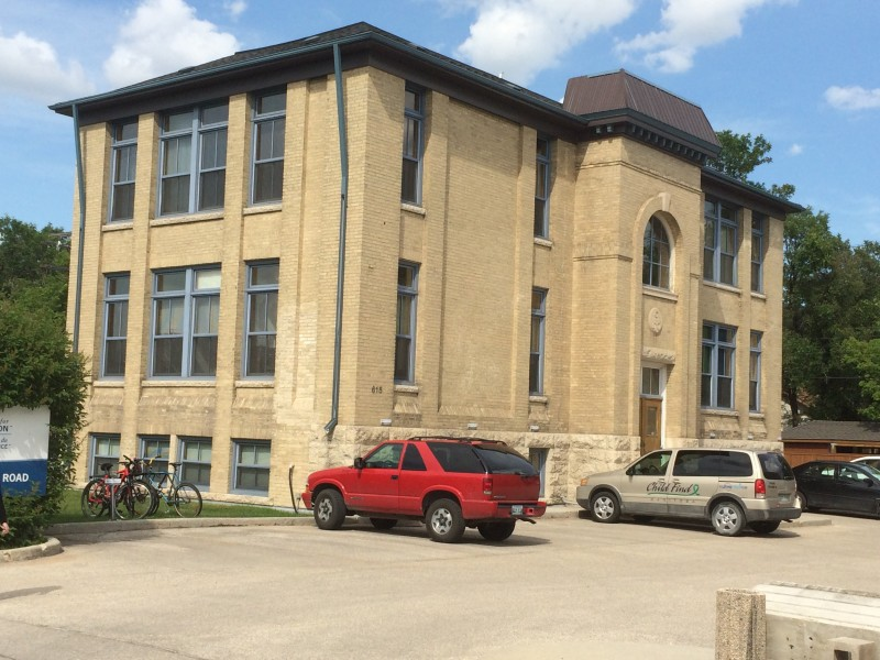 The Julia Clark School in River Heights that once functioned as the Assiniboia Indian Residential High School.
