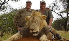 Why is Walter Palmer smiling? Does he know what he has done? One can only ask. I guess not yet.
