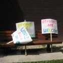 World Refugee Day Signs