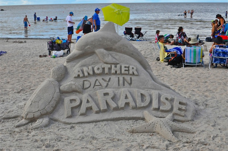 Another Day In Paradise won third prize