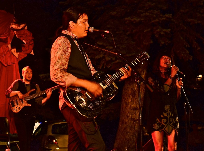 Saturday night headliners Digging Roots' positive messages resonated well with the audience