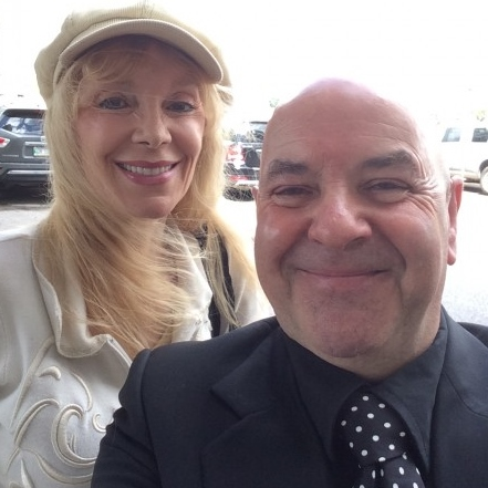 Liona Boyd was kind enough to pose with me for a selfie. PHOTO: Trevor Smith.
