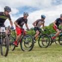 The Birch Mountain Bike Race - the start of the Elite Class