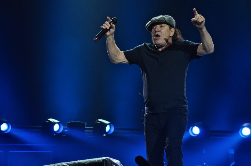 """We're gonna make rock'n'roll and the party starts right now!""-Brian Johnson"