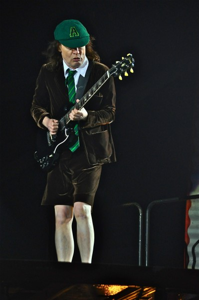 He may be in his 60's but he still knows how to rock