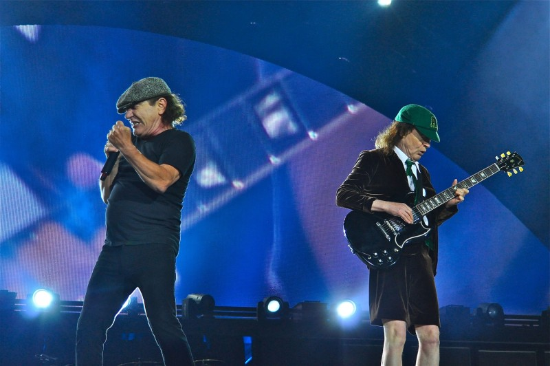 Brian's vocals have complemented the ACDC sound since 1980's Back in Black