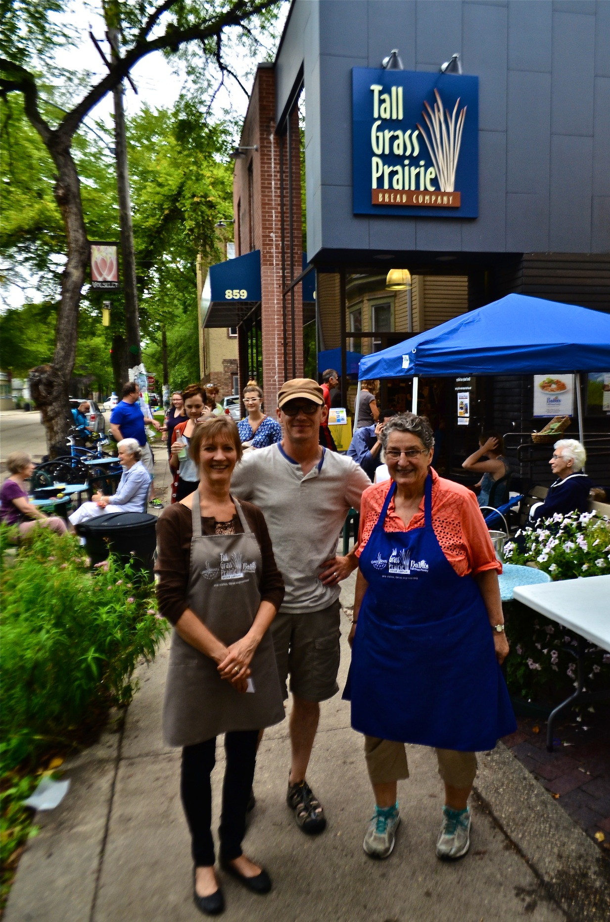 Owners Kathy Bartman, Louic Perrot and Tabitha Langen