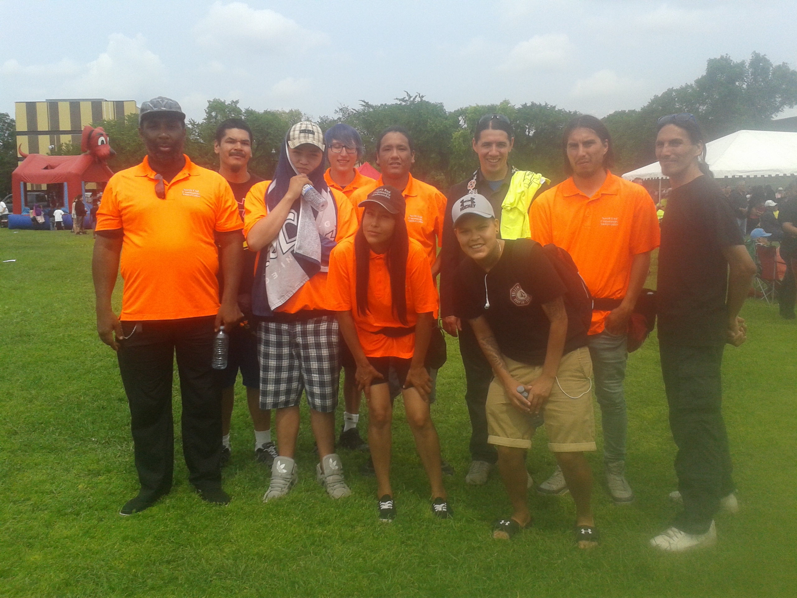 Ambassadors attended the recent NECRC picnic.