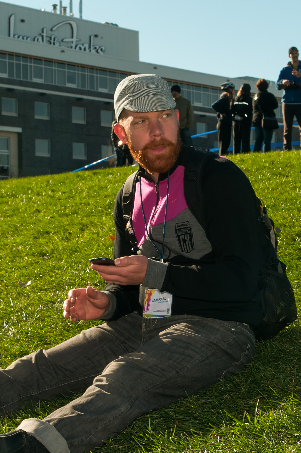 2014 - Ian Hall finally has a rest and enjoys the sport that he loves most - Cyclocross!