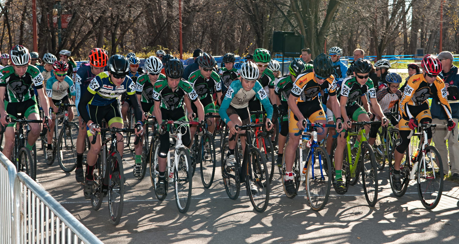 2014 Cyclocross Nationals - one of the races at the Forks