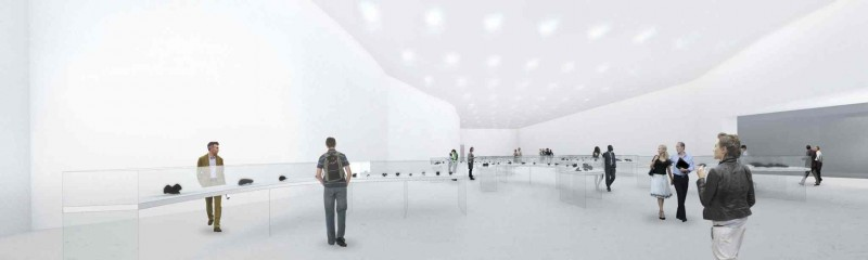 Artist's rendering of the Winnipeg Art Gallery's Inuit Art Centre.