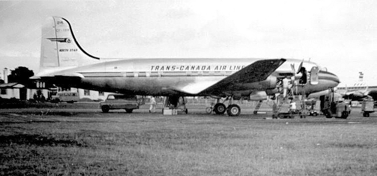 Trans_Canada_Airlines_North_Star_Heathrow_1951