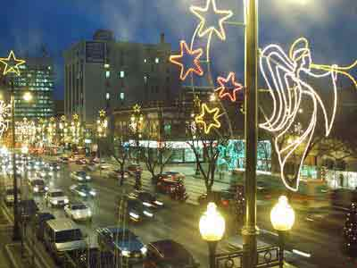Rich History Of Holiday Lighting In City S Downtown